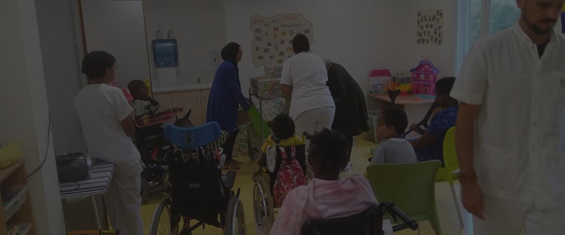 Permalink to: Opération partage de Kdo pour les enfants de l'hôpital des enfants