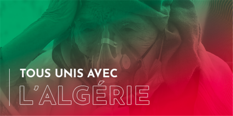 Tous unis avec l'Algérie